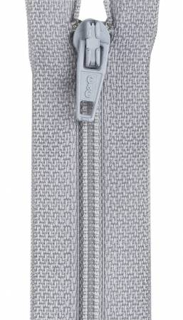 CC All-Purpose Polyester Coil Zipper 7in Nugrey