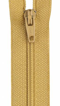 Zipper All-Purpose Polyester Coil 7in Temple Gold