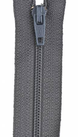All-Purpose Polyester Coil Zipper 7in Flannel