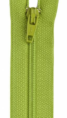 All-Purpose Polyester Coil Zipper 7in Kiwi