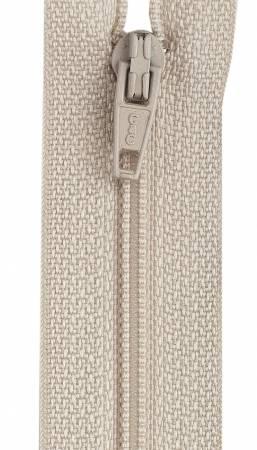All-Purpose Polyester Coil Zipper 9in Ecru