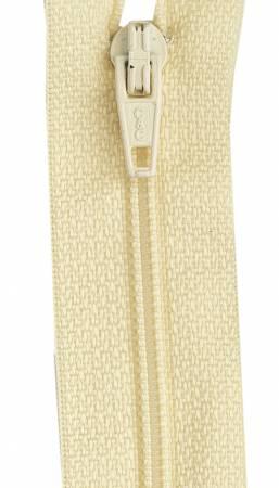 All-Purpose Polyester Coil Zipper 12in Primrose
