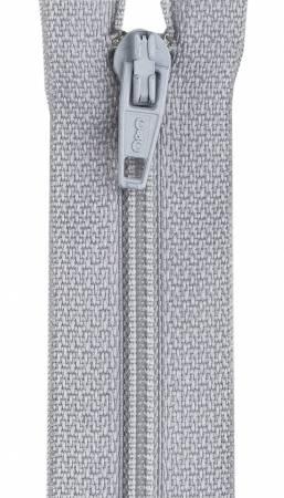All-Purpose Polyester Coil Zipper 16in Nugrey