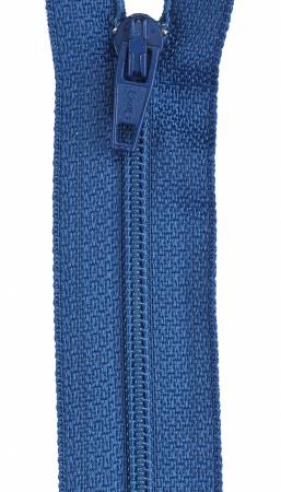 All-Purpose Polyester Coil Zipper 16in Soldier Blue