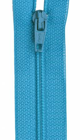 All-Purpose Polyester Coil Zipper 16in Parakeet
