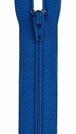 All-Purpose Polyester Coil Zipper 18in Yale Blue