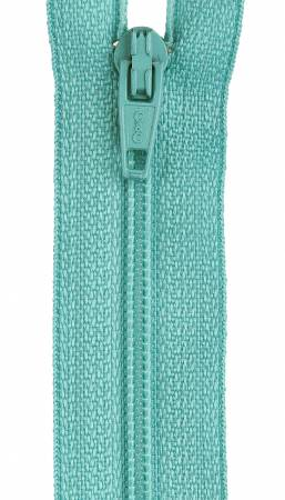 All-Purpose Polyester Coil Zipper 18in Dark Turquoise