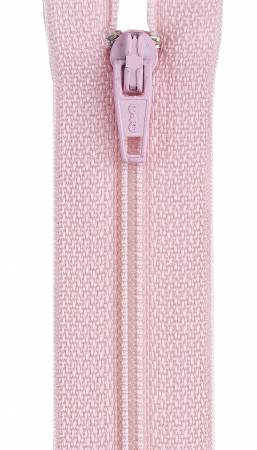 All-Purpose Polyester Coil Zipper 20in Light Pink