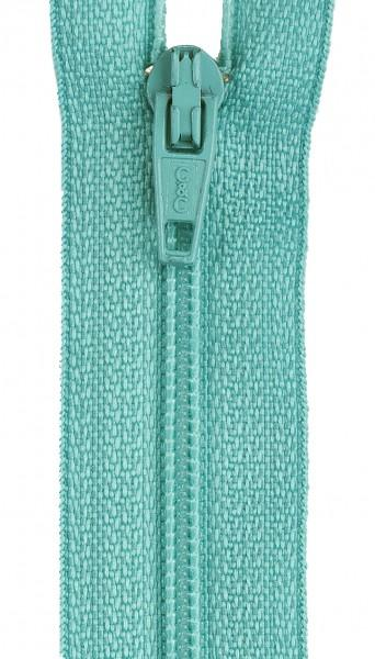CC All-Purpose Polyester Coil Zipper 20in Dark Turquoise