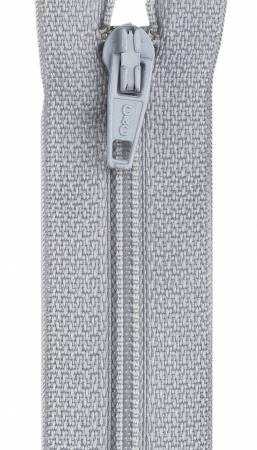 CC All-Purpose Polyester Coil Zipper 22in Nugrey