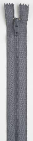 All-Purpose Polyester Coil Zipper 22in Slate