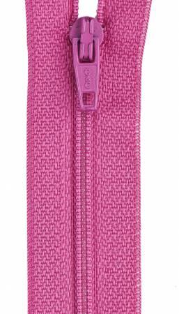 CC All-Purpose Polyester Coil Zipper 22in Dark Rose