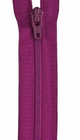 CC All-Purpose Polyester Coil Zipper 22in Fuchsia
