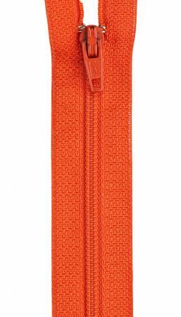 CC All-Purpose Polyester Coil Zipper 22in Tango