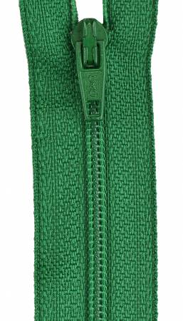 COATS & CLARK All-Purpose Polyester Coil Zipper 22in Kerry Green