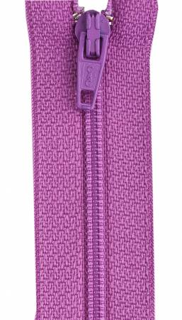 CC All-Purpose Polyester Coil Zipper 22in Raspberry