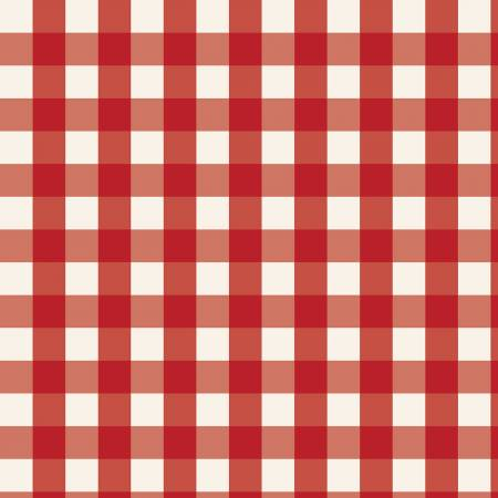 Red and White Plaid Flannel:  Winterberry by My Mind's Eye for Riley Blake Fabrics