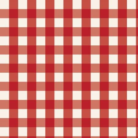 Designer Flannel, Winterberry Plaid Red