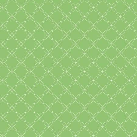 Lattice Flannel Green