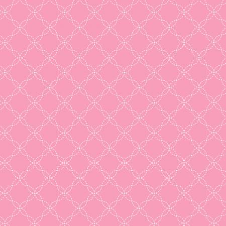 Pink Lattice Flannel