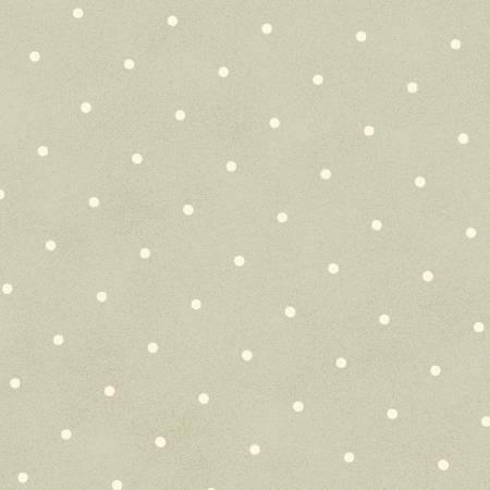 Flannel - Gentle Garden - Sage Dots