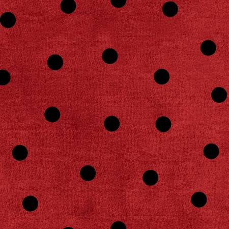 Red/Black Big Dots, F9214M-RJ