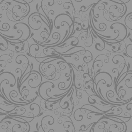 Grey Swirl Flannel