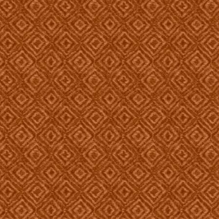 Woolies Flannel - On Point - Orange