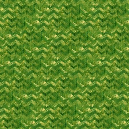 Winter Elegance Green Textured Chevron Flannel