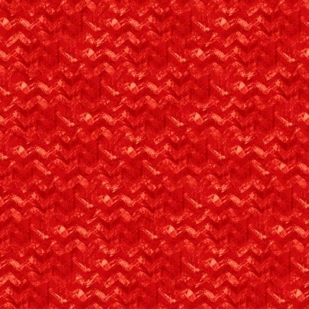 Winter Elegance Red Textured Chevron Flannel