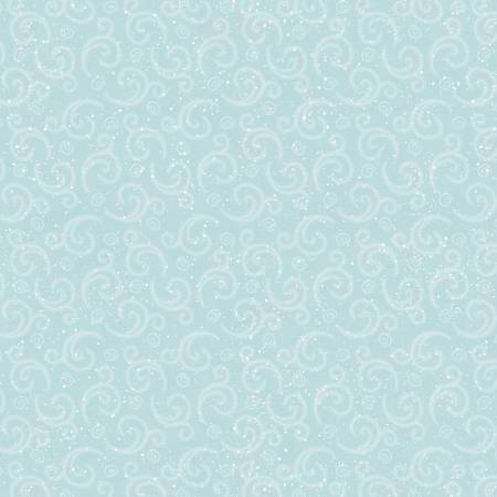 I Love Sn'Gnomies Aqua Swirl Flannel