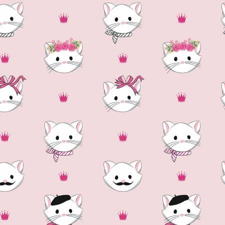 Designer Flannel Chloe Main Pink