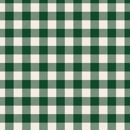 Designer Flannel Christmas Plaid Green