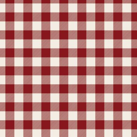 Designer Flannel Christmas Plaid Red