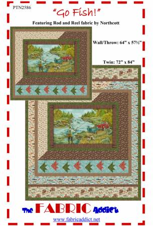 Go Fish Wall/Throw Quilt Kit