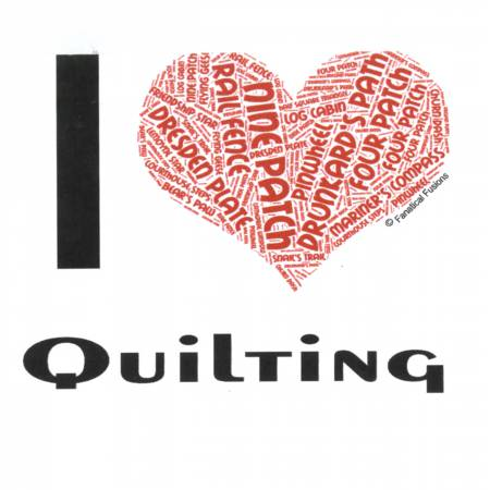 I Love Quilting 15oz Mug