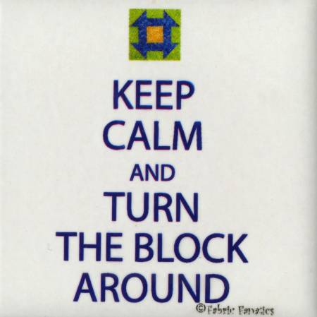 Magnet Keep Calm & Turn The Block