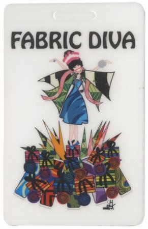 Fabric Diva Luggage Tag