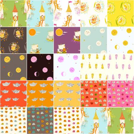 Fat Quarter Far Far Away 2, 23pcs/bundle