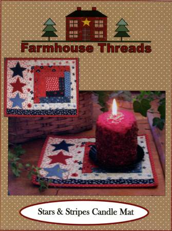 Stars & Stripes Candle Mat