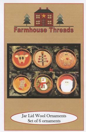 PT- Mason Jar Wool Ornaments