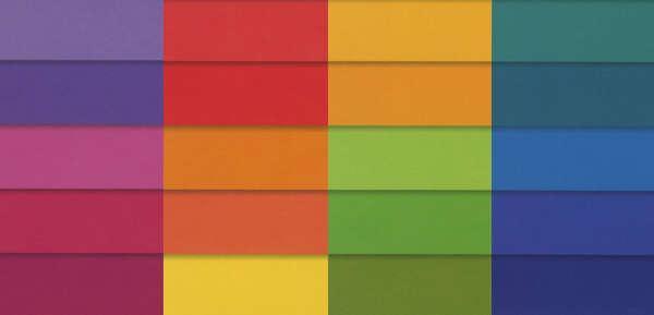 Fat Quarter Bundle Spectrum - Rainbow Solids 20PC
