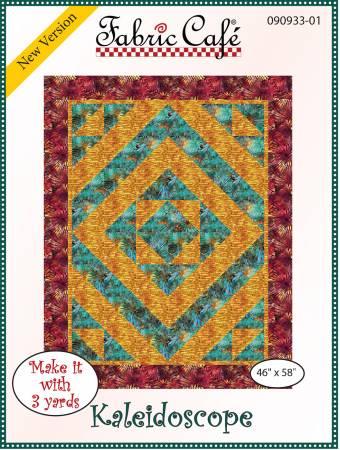 Fabric Cafe Kaleidoscope Pattern 46 x 58 090933-01