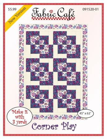 Fabric Cafe Corner Play Pattern 45 x 63 091520-01