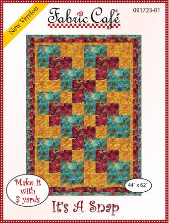 It's A Snap - 3 Yard Quilt