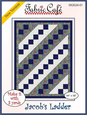 Fabric Cafe Jacobs Ladder Pattern 44 x 58 092024-01