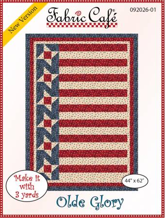 Olde Glory 3-Yard Quilt Pattern