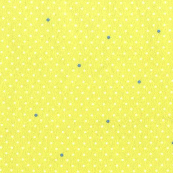 Baby!lime background with white and blue pin dot