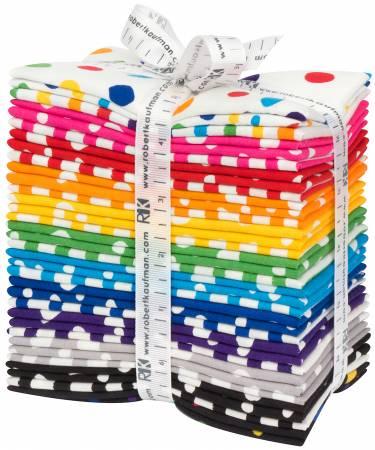 Fat Eight Dot Stripe Delight, 35pcs/bundle