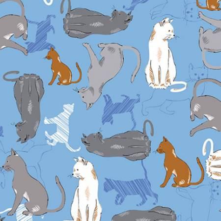 SHANNON Blue Bonnet Feline Good Cuddle FELINEGOOODB